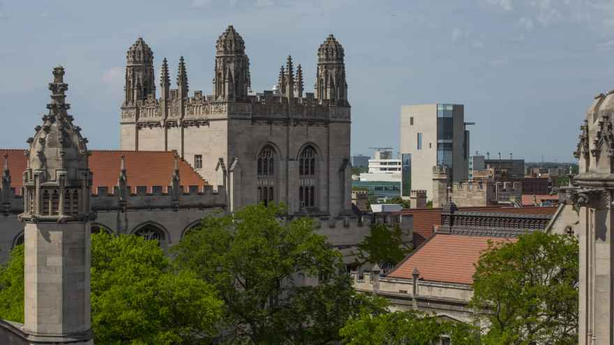 University of Chicago campus view