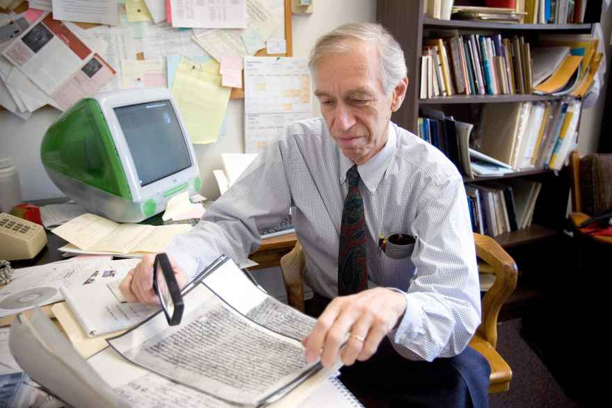 A prolific author who was fluent in Hebrew and Arabic, Prof. Emeritus Norman Golb advanced ideas that intensified a continuing debate over the origins of the Dead Sea Scrolls.
