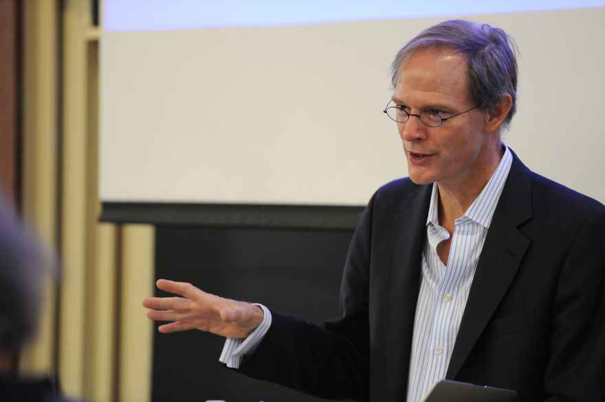 University Professor of Comparative Literature Haun Saussy at Humanities Day 2013