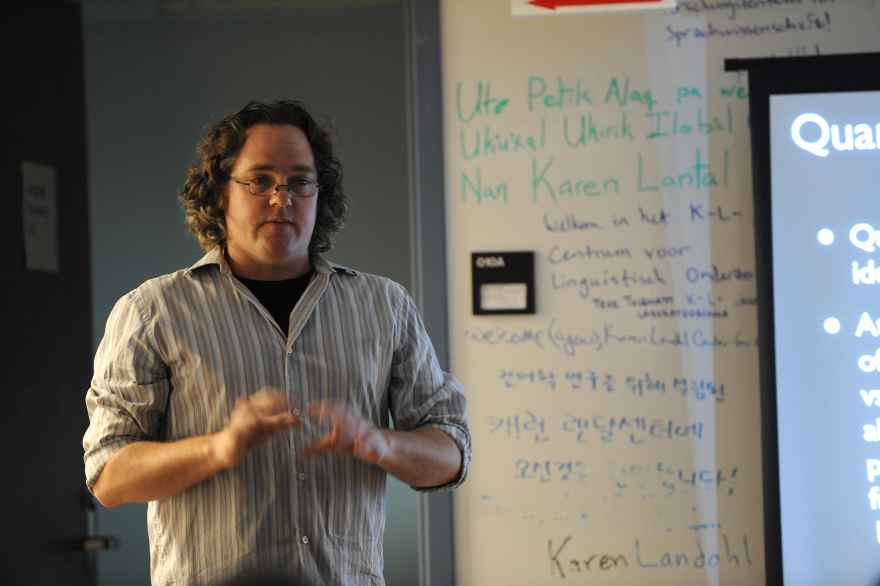 Jason Riggle, Humanities Day 2012