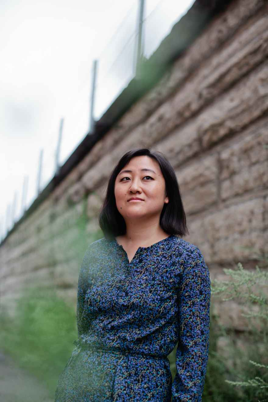 """Ling Ma receives wide recognition for her apocalyptic novel, """"Severance."""" Photo by Anjali Pinto."""