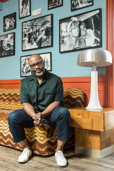 Theaster Gates by Elizabeth Lippman for the New York Times